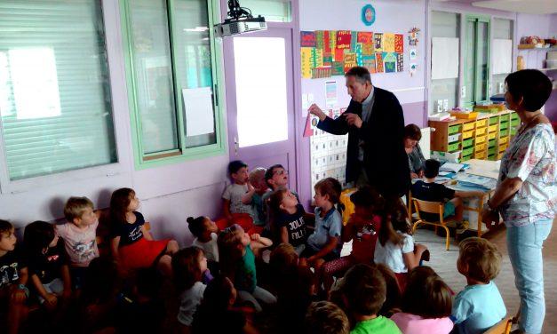 Visite de Monseigneur Pierre-Yves Michel