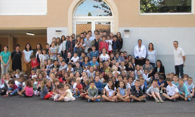 Petits et grands ont fait leur rentrée à l'école Notre Dame.