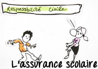 Toutes classes : Assurance individuelle scolaire proposée par l'école.