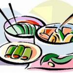 Les menus pour la période du 04 janvier au 05 février sont disponibles