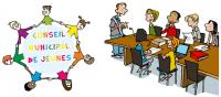 L'école accueille des collégiens pour la promotion du conseil municipal des jeunes.