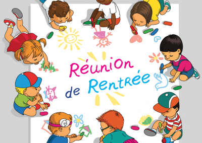 SUPPORT A LA REUNION PARENTS/ENSEIGNANTE DES ELEVES DE LA CLASSE DE CM1/CM2