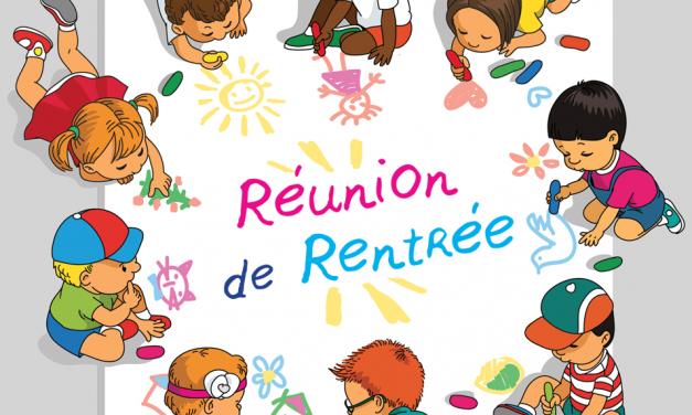 SUPPORT A LA REUNION PARENTS/ENSEIGNANTE DES ELEVES DE LA CLASSE DE CM1/CM2