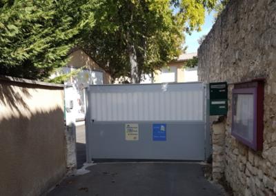 Toutes classes : Travaux parking BARRY – Accès à l'école.