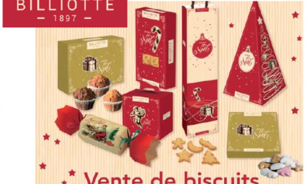Pour offrir un beau Noël à nos élèves l'APEL organise une vente de biscuits.