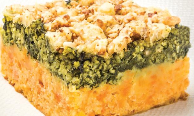 Les chroniques culinaires mars 2019 : Parmentier de millet & son crumble.