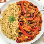 Les chroniques culinaires juin 2019 : Chili sin carne.