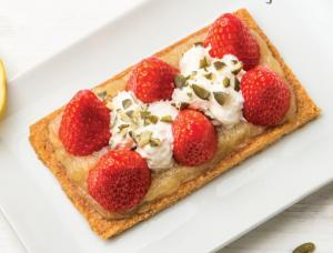 Les chroniques culinaires mai 2019 : Sablé fraises et rhubarbe