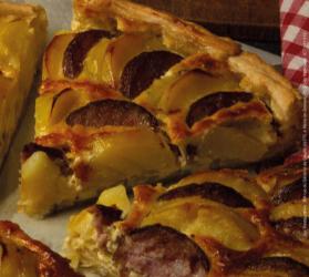 Les chroniques culinaires février 2020 : Quiche Jurassienne.