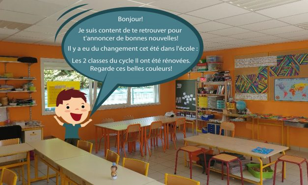 Travaux d'été : Rénovation des classes du cycle II & des WC des classes de maternelle