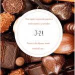 CHOCOLATS – RAPPEL